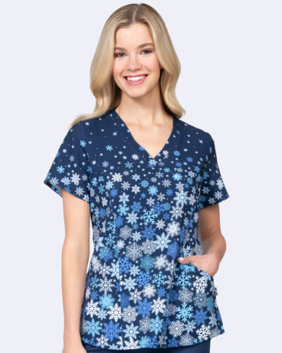 Ava Therese- Falling Flakes Print Top