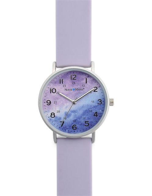 Nurse Mates Violet Water Color Watch NA00347