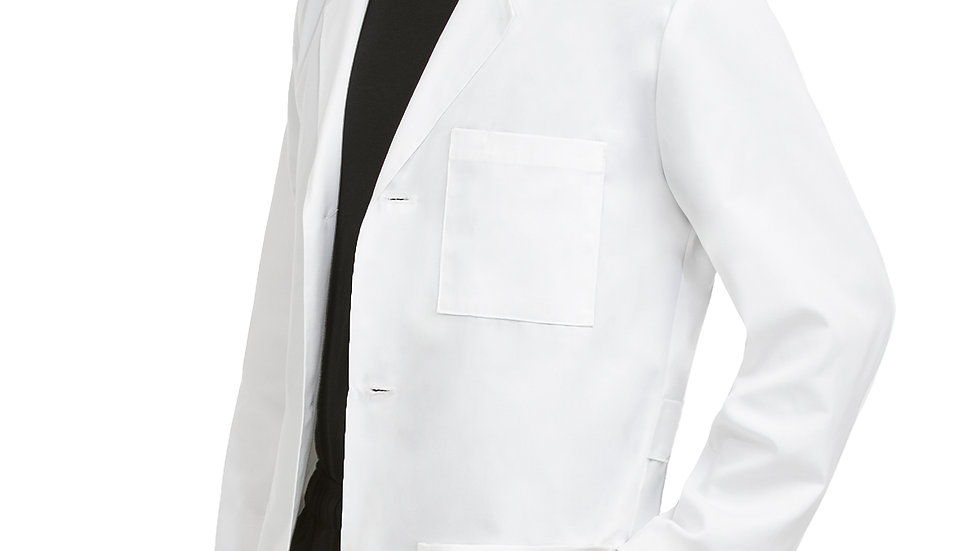 38 In. Mens Doctor Length Lab #8607