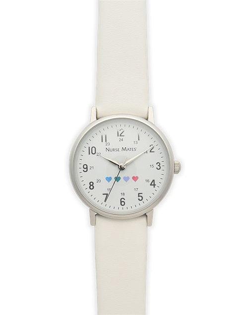 Nurse Mates Have a Heart Watch - White NA00191