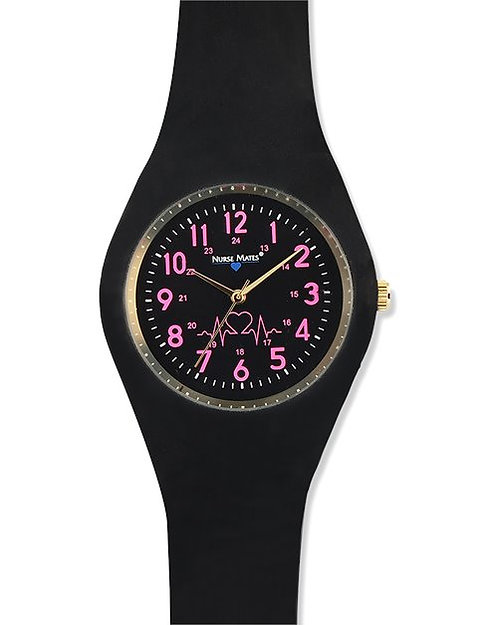 Nurse Mates Uni-Watch - Black 932401