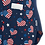 Thumbnail: Zavate Ava Therese Mary Love Your Freedom V-Neck Print Scrub Top