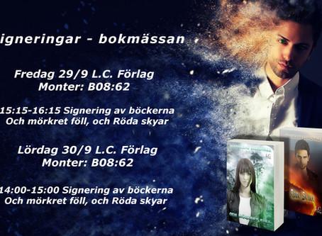 Signeringar - Bokmässan Göteborg 2017