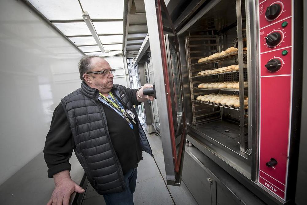 Victor Brault au chevet des baguettes