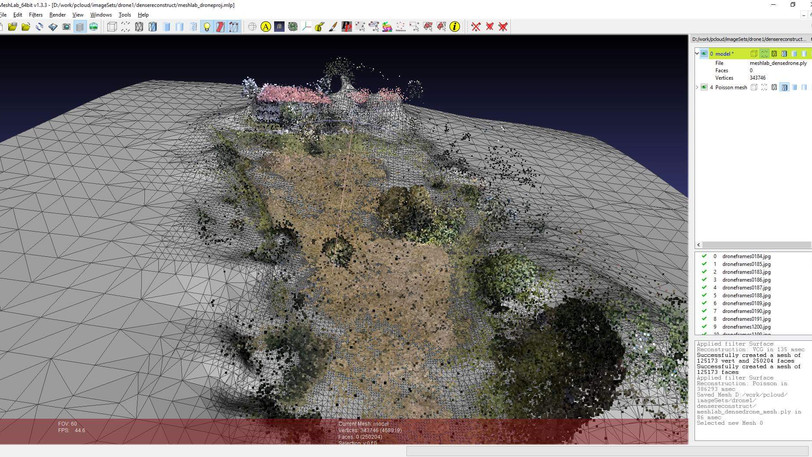 of Pointclouds and Spatial Tracking