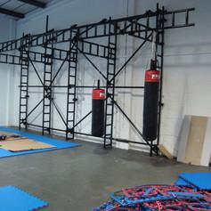 Building work on the Dojo