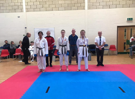 Seishan Karate Competition - Sunday 1st December 2020