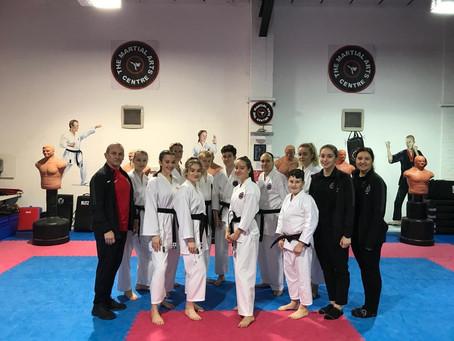 Karate Dan Grading