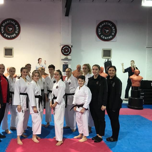 Karate Dan Grades Jan 2020