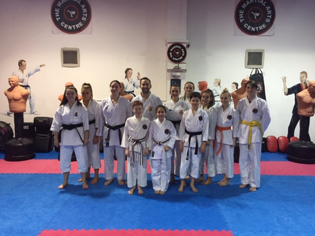 England Kumite Coach Comes To TMAC