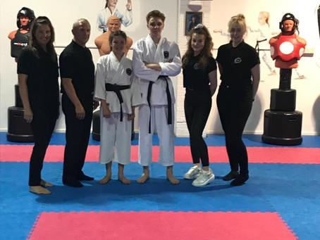 Karate Black Belt grading