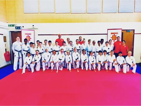 Karate England Training session