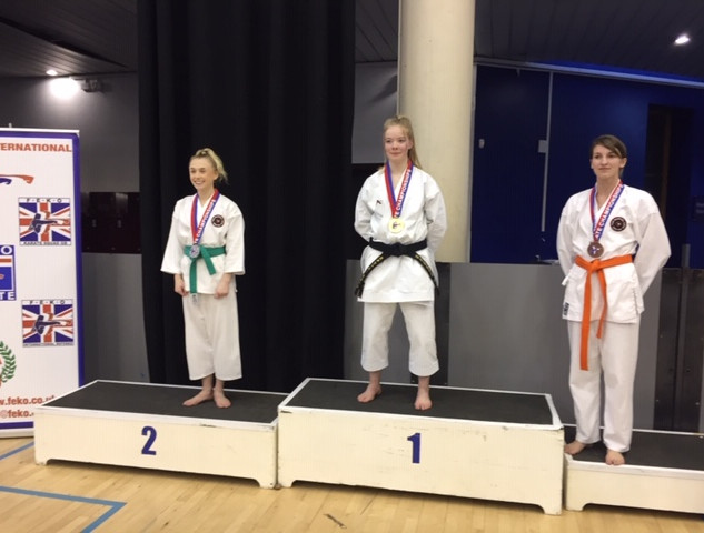 Georgia Conway and Kellie Morant (Silver and Bronze Kata)
