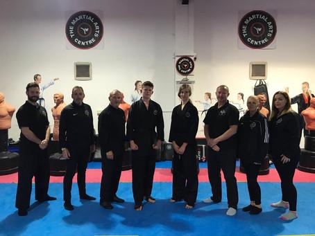1st Dan Kickboxers!