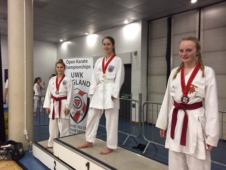 Report from UWK England Championships, Sheffield