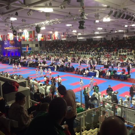 WUKF World Karate Championships Dundee June 2018