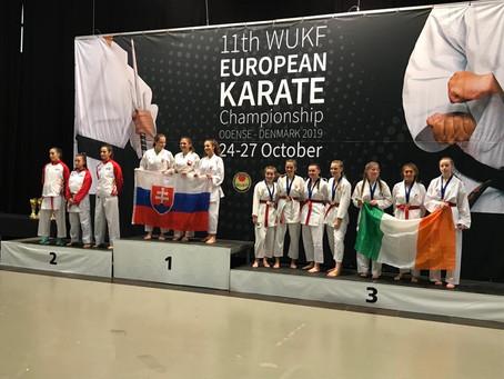 11th WUKF European Karate Championships, Denmark