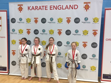 Karate Sport England Kyu Grade Event - Harlow