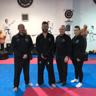 January 2020 Dan Grade Kickboxing