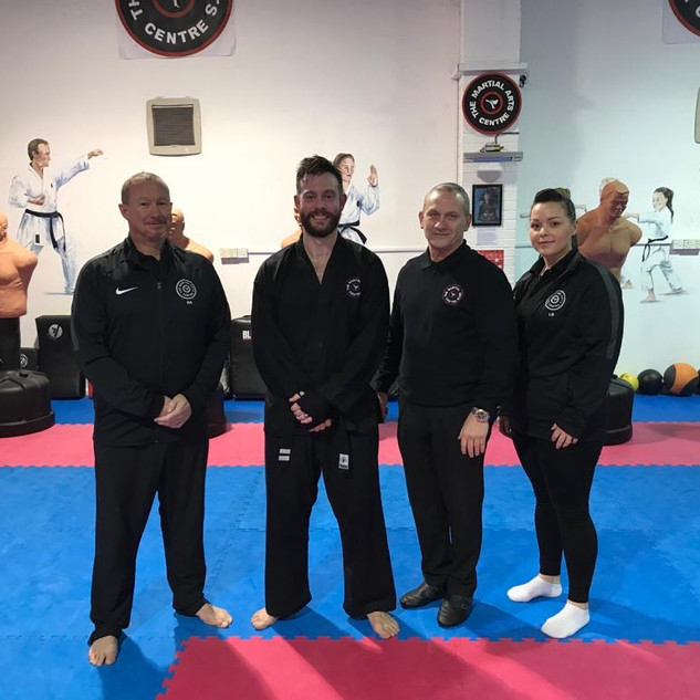 January 2020 Dan Grade Kickboxing