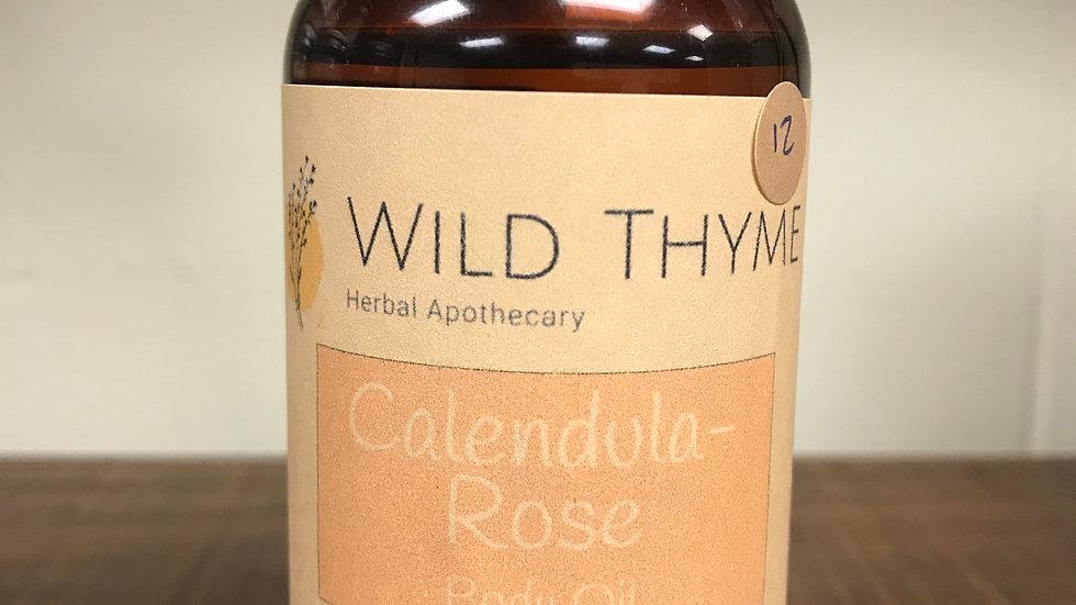 Calendula-Rose Body Oil