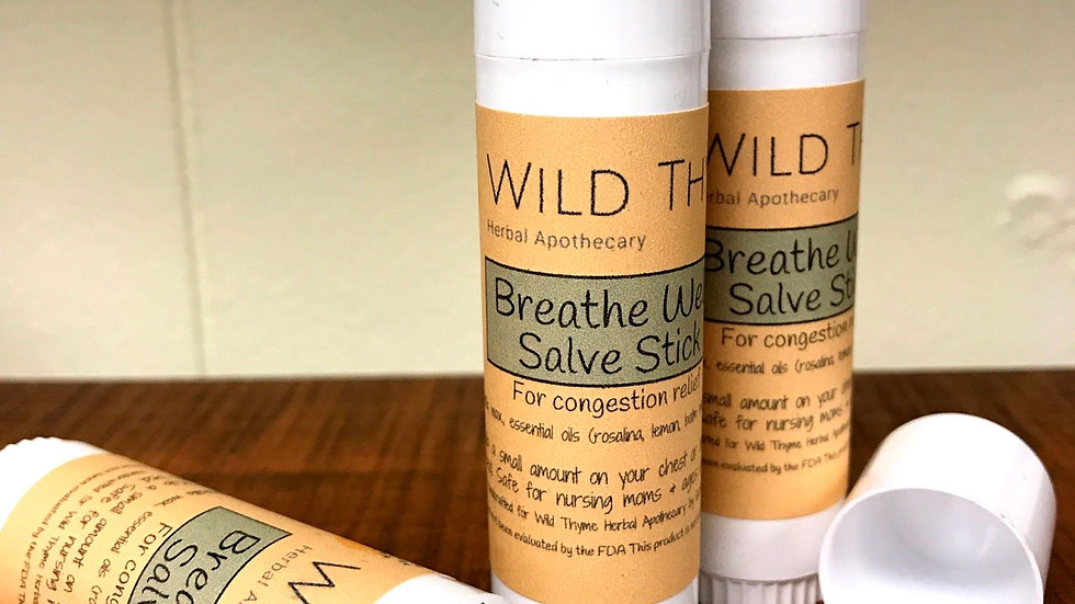 Breathe Well Salve Stick