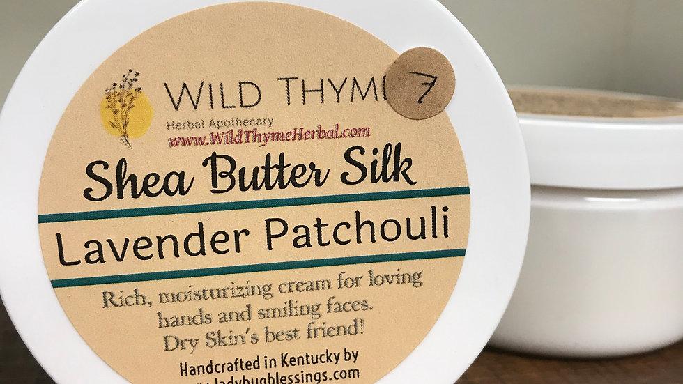 Shea Butter Silk: Lavender Patchouli