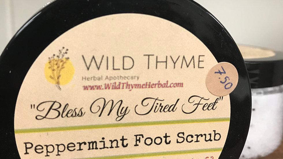 Bless My Tired Feet Peppermint Foot Scrub