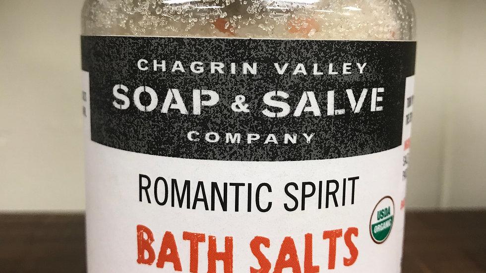 Romantic Spirit Bath Salts