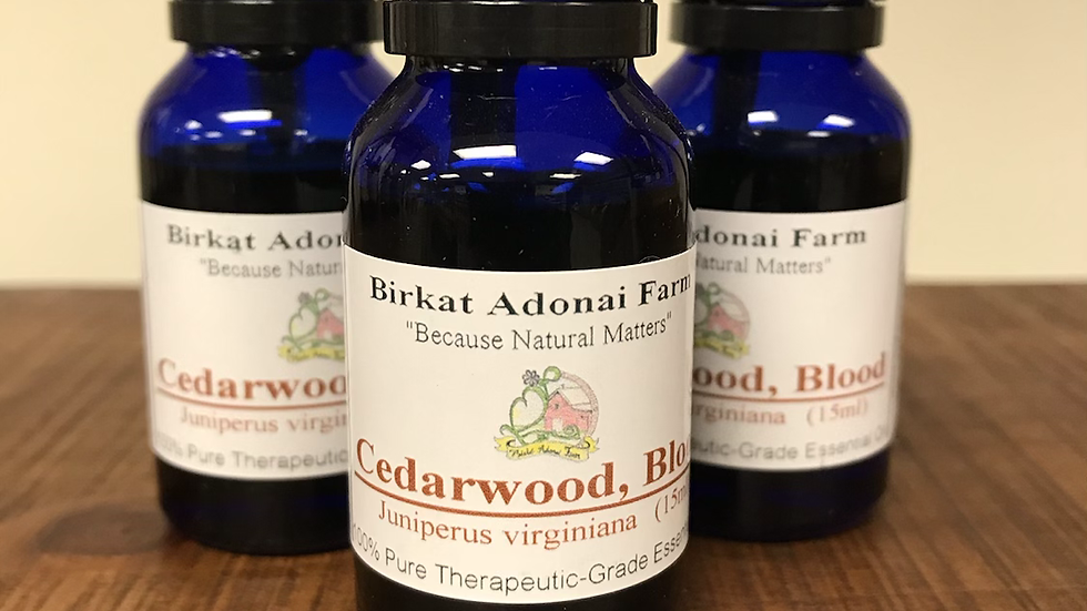 Cedarwood, Blood