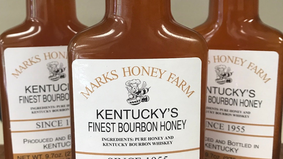 Kentucky's Finest Bourbon Honey