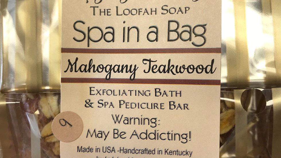 Spa in a Bag: Mahogany Teakwood