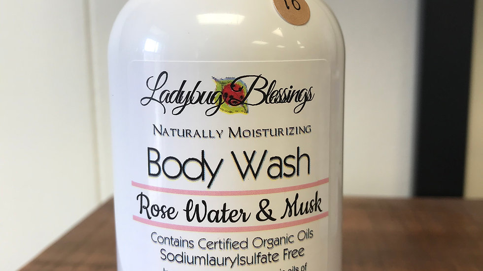 Rose Water and Musk Body Wash