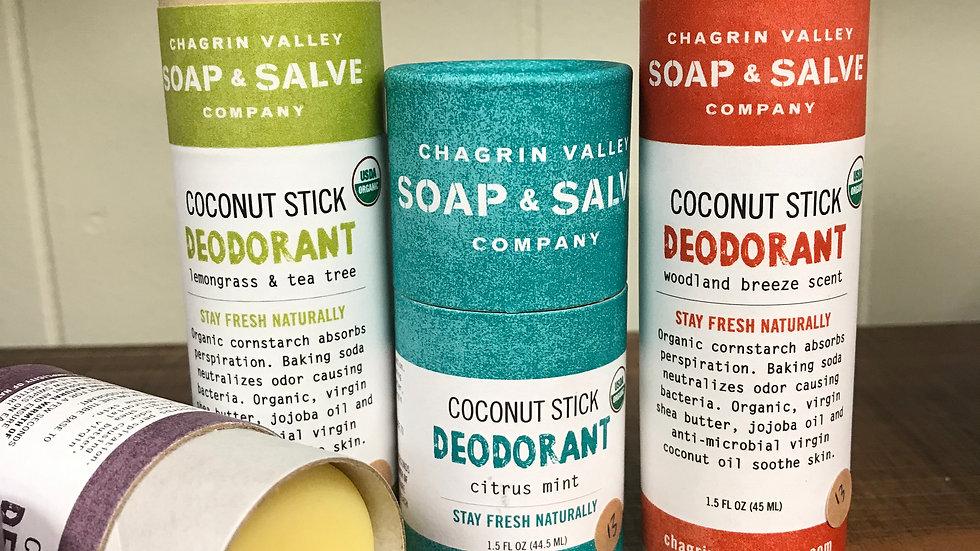 Coconut Stick Deodorant
