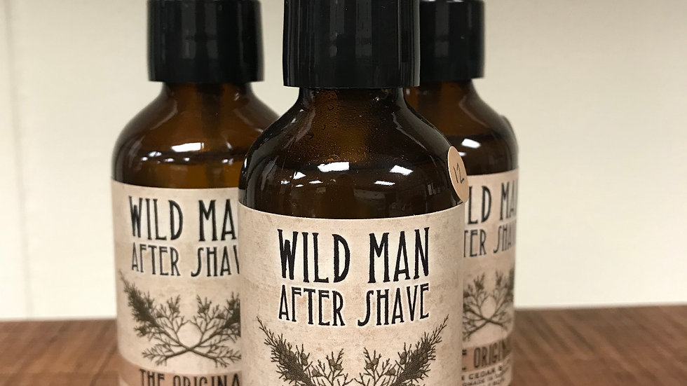 Wild Man After Shave