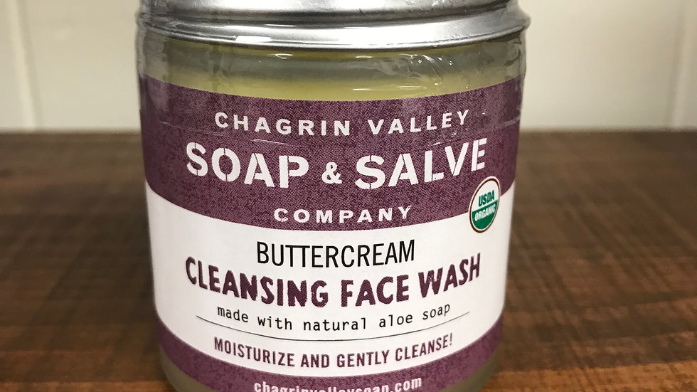 Buttercream Cleansing Face Wash