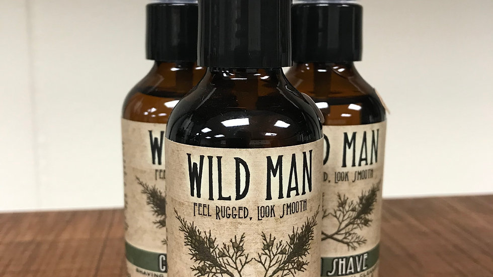Wild Man Clean Shave