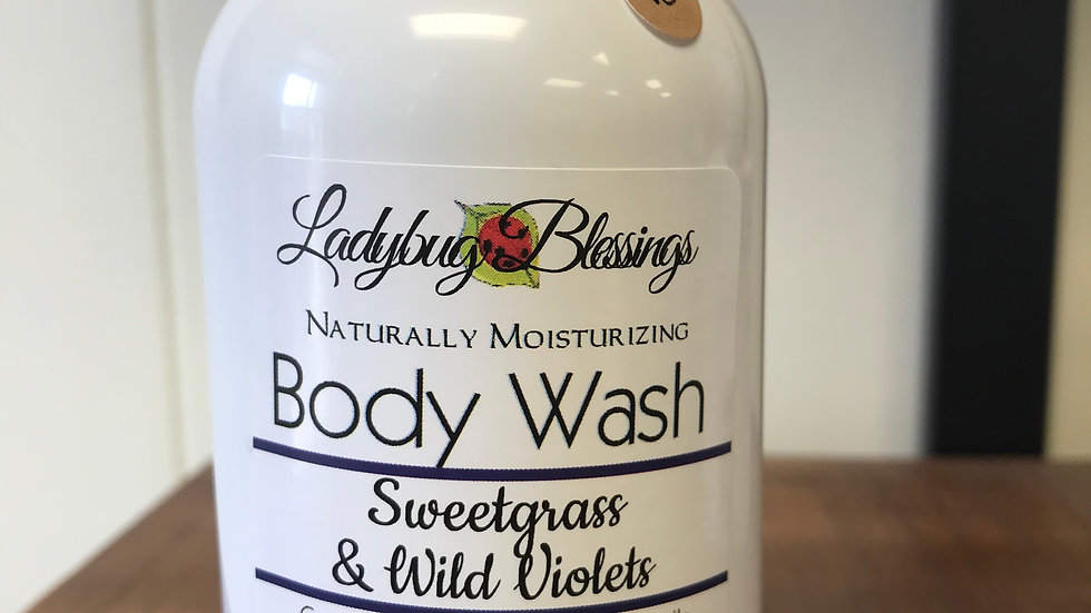 Sweetgrass & Wild Violet Body Wash