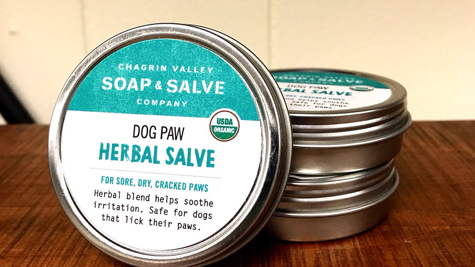 Dog Paw Salve