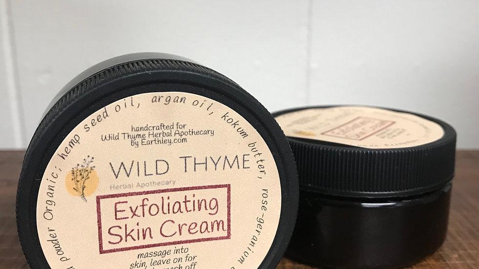 Exfoliating Skin Cream