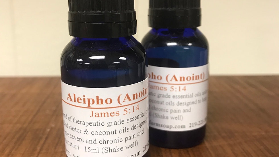 Aleipho (Anoint)