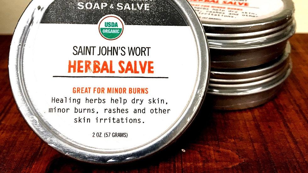 Saint John's Wart Herbal Salve