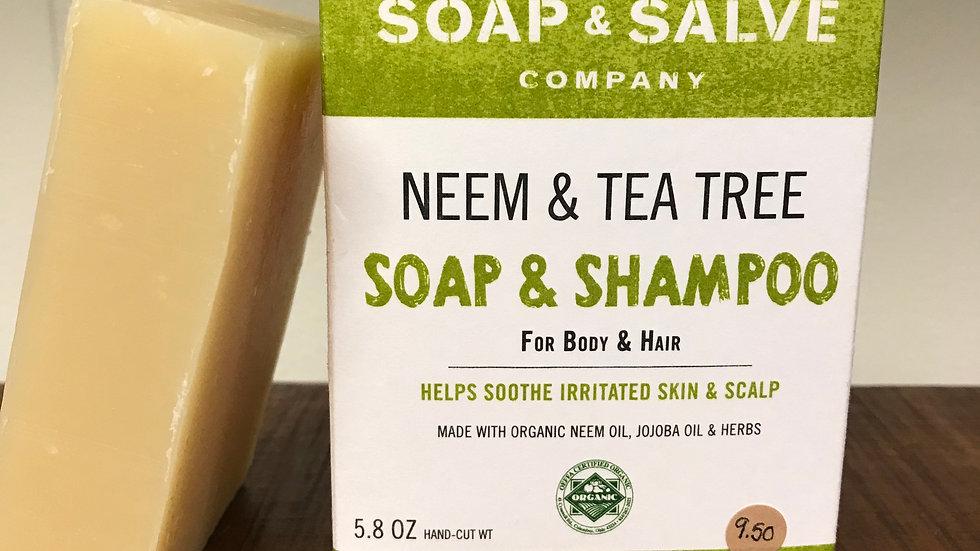 Neem & Tea Tree Shampoo