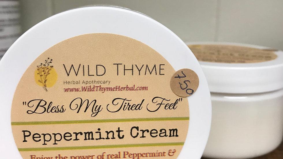 Bless My Tired Feet Peppermint Cream