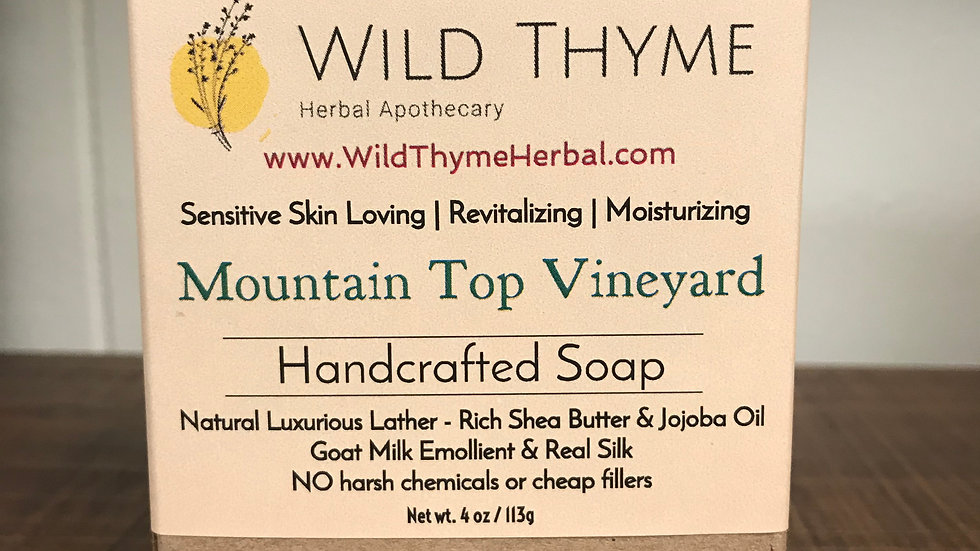 Mountain Top Vineyard Soap