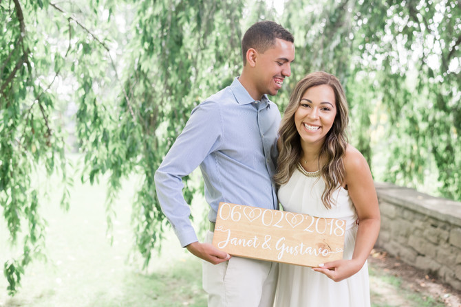 NJ Botanical Garden Engagement {Janet + Gus}