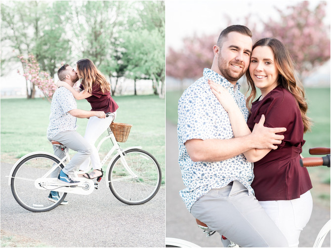 Liberty State Park Engagement Session {Ashley + Tyler}