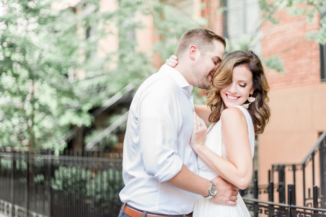 West Village & Hoboken Engagement Session {Ashley + Jeff}