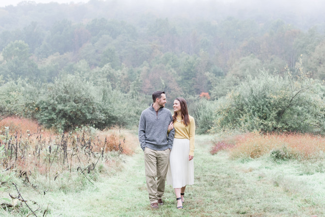Ramapo Valley County Reservation Engagement {Caryn + Tim}