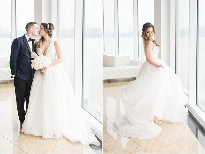 Waterside Restaurant & Catering Wedding | North Bergen, New Jersey {Marisa + Dan}